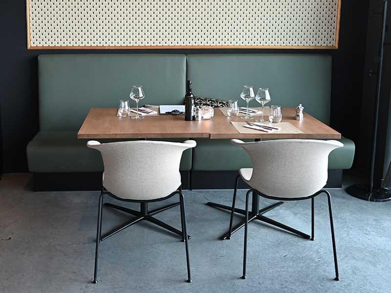 Gris Bleu - Le restaurant
